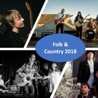 Latest line-up announcements for folk and country acts!